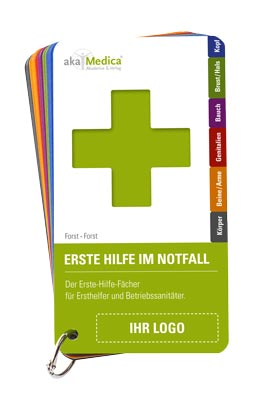 Branding-Katalog für Erste-Hilfe-Fächer